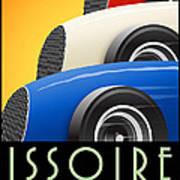 Issoire France Grand Prix Historique Poster
