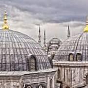 Istanbul Landmarks  Poster
