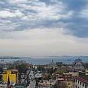 Istanbul Panorama Hdr Poster