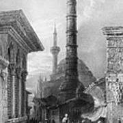Istanbul: Porphyry Column Poster