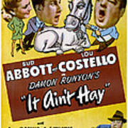 It Aint Hay, Top L-r Patsy Oconnor, Bud Poster