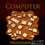 It Computer Professional  Poster