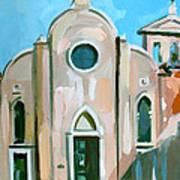 Italian Church Poster by Filip Mihail