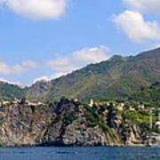 Italian Coastline Poster