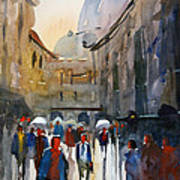 Italian Impressions 5 Poster by Ryan Radke