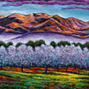 Italian Orchard Poster