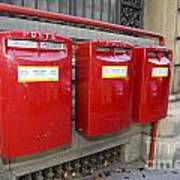 Italian Post Office Boxes Poster