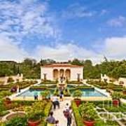 Italian Renaissance Garden Hamilton Gardens New Zealand Poster