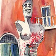 Italian Sculptures 05 Poster