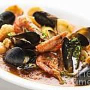 Italian Seafood Stew Poster