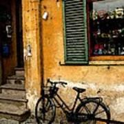 Italian Sidewalk Poster