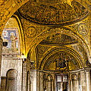 Italy - St Marks Basiclica Venice Poster