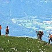 Italy Trekking Poster
