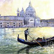 Italy Venice Morning Poster