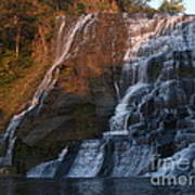 Ithaca Falls  --  Late Afternoon Poster by Anna Lisa Yoder