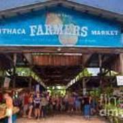 Ithaca Farmer's Market Poster