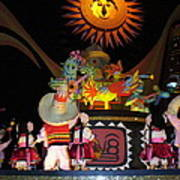 It's A Small World With Dancing Mexican Character Poster