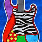 It's Electric Acrylic By Diana Sainz Poster