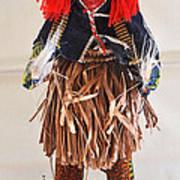 Ivory Coast Native Katchina Doll Poster