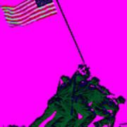 Iwo Jima 20130210 Poster by Wingsdomain Art and Photography