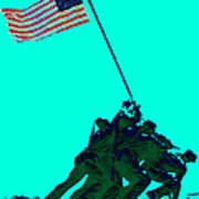 Iwo Jima 20130210m128 Poster by Wingsdomain Art and Photography