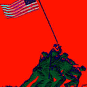 Iwo Jima 20130210p65 Poster by Wingsdomain Art and Photography