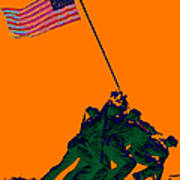 Iwo Jima 20130210p88 Poster by Wingsdomain Art and Photography