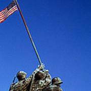 Iwo Jima Memorial At Arlington National Poster