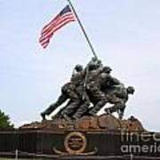 Iwo Jima Memorial Poster