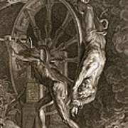 Ixion In Tartarus On The Wheel, 1731 Poster