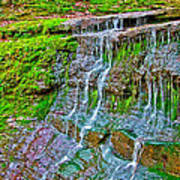 Jackson Falls At Mile 405 Natchez Trace Parkway-tennessee Poster