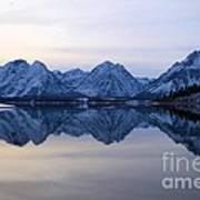 Jackson Lake Reflections Poster