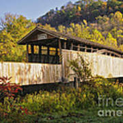Jackson Mill Covered Bridge Poster