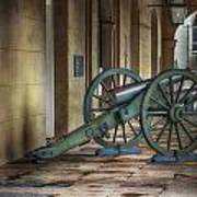 Jackson Square Cannon Poster by Brenda Bryant