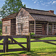 Jacksons Mill Cabin Poster