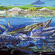 Jacksonville Kingfish Off0088 Poster