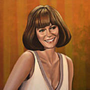 Jacqueline Bisset Painting Poster