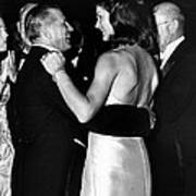 Jacqueline Kennedy Dancing Poster