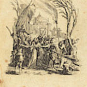 Jacques Callot French, 1592 - 1635, The Betrayal Poster