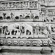 Jagdish Temple Sculpture Poster