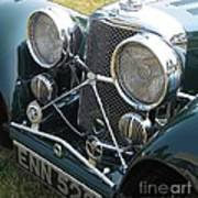 Jaguar Ss100 Poster