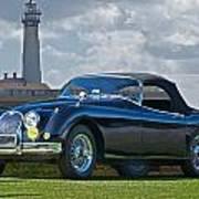Jaguar Xk120 Roadster Poster