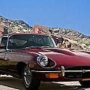 Jaguar Xke Poster