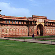 Jahangir Palace Red Fort Agra Poster
