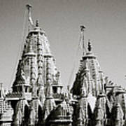 Jain Temple Towers Poster