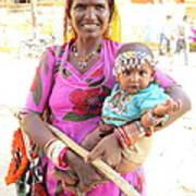 Jaisalmer Mother Daughter Poster