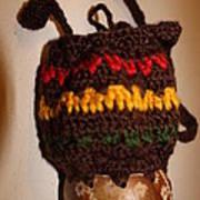 Jamaican Coconut And Crochet Shoulder Bag Poster