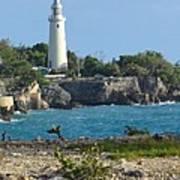 Jamaican Lighthouse Poster