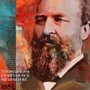 James A. Garfield Poster by Corporate Art Task Force