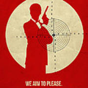 James Poster Red 2 Poster